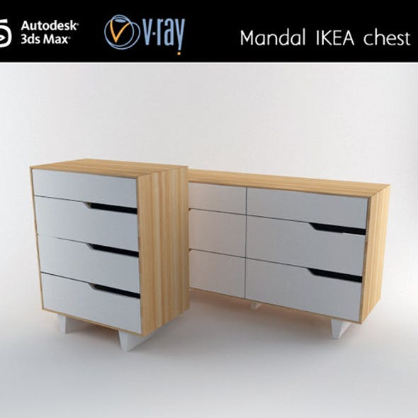 Mandal IKEA chest