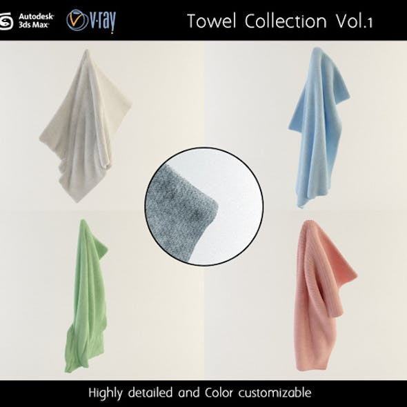 Towel Collection Vol.1