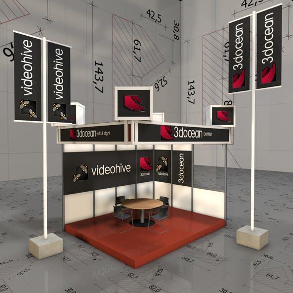 Amaizing Xhibition Pavilion - 3DOcean Item for Sale