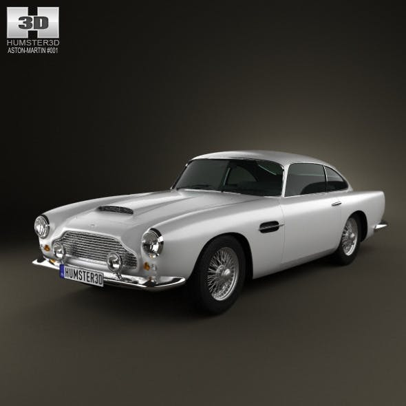 Aston Martin DB4 1958  - 3DOcean Item for Sale