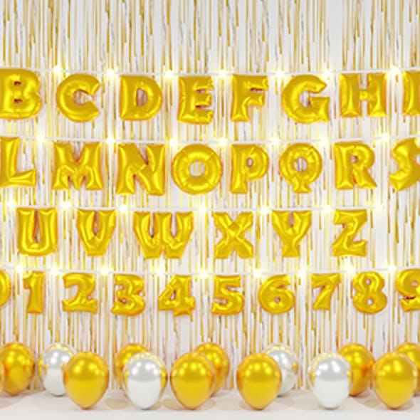 Ballon Alphabet