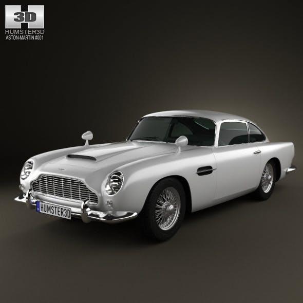 Aston Martin DB5 1963  - 3DOcean Item for Sale