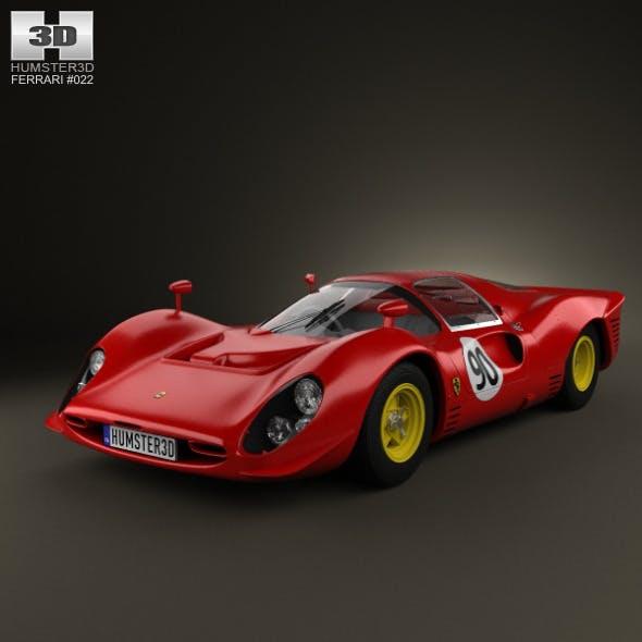 Ferrari 330 P4 1967 - 3DOcean Item for Sale