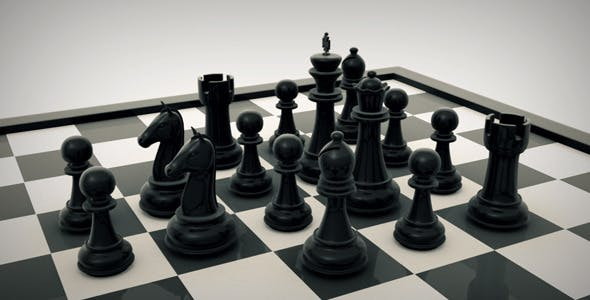 Chess Board - 3DOcean Item for Sale