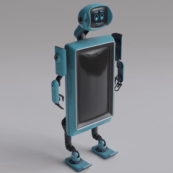 Robot TVset 01