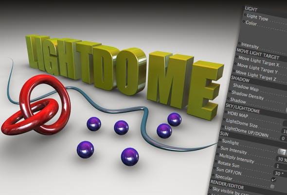 LIGHTDOME R1.0 - 3DOcean Item for Sale