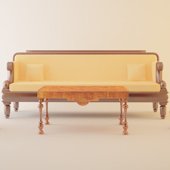 classical furniture set