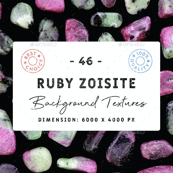 46 Ruby Zoisite Background Textures