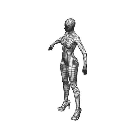 Female Base Model - 3DOcean Item for Sale