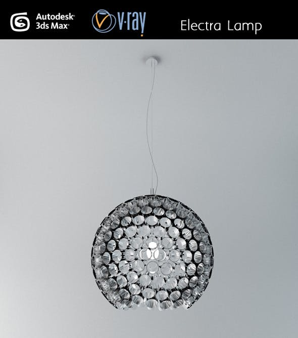 Electra ceiling lamp - 3DOcean Item for Sale