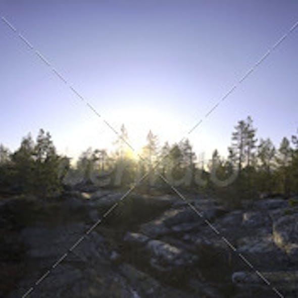 Nature HDRI - Midsummer Rock