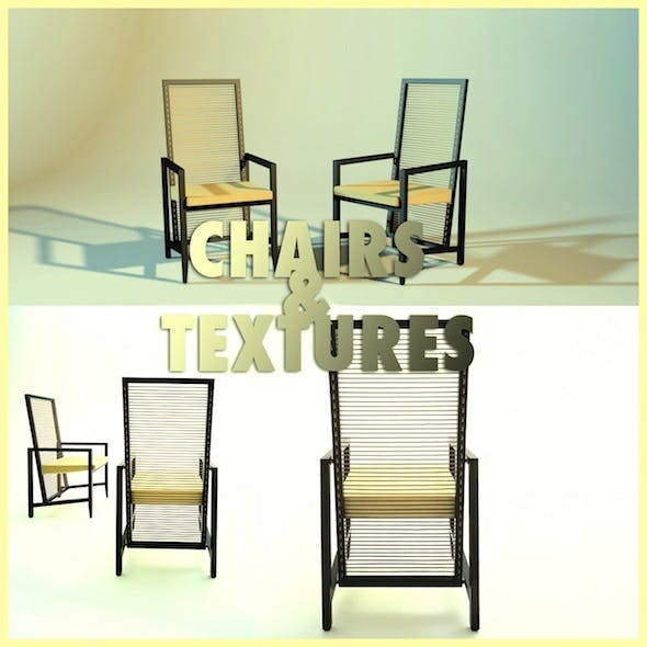 Modern Chair with Materials