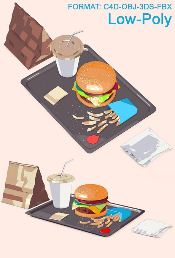 Big Burger - 3DOcean Item for Sale