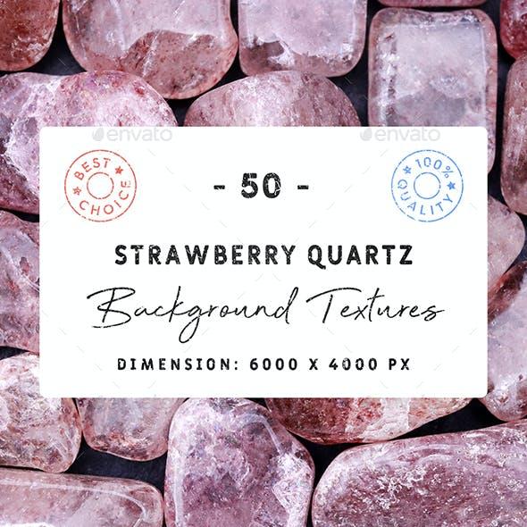 50 Strawberry Quartz Background Textures