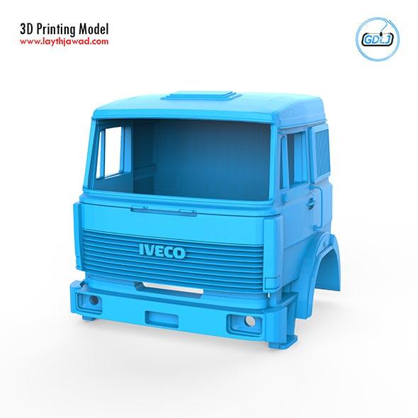 Iveco 190 38 IT Runner Cabin 3D Printing Model