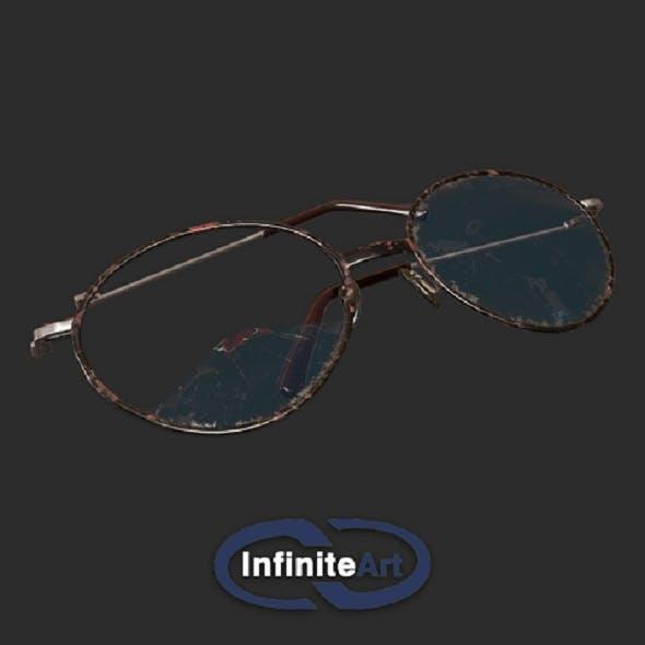 Glasses are broken