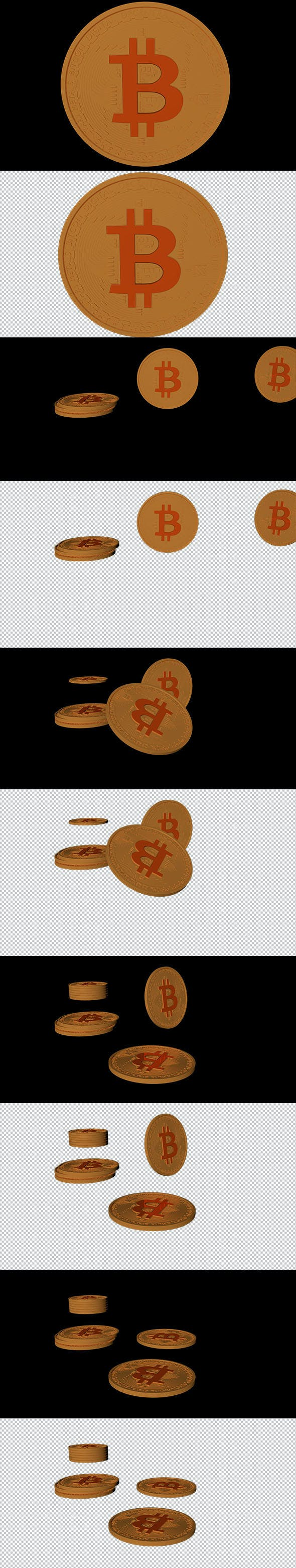 Animated Bitcoin - 3DOcean Item for Sale