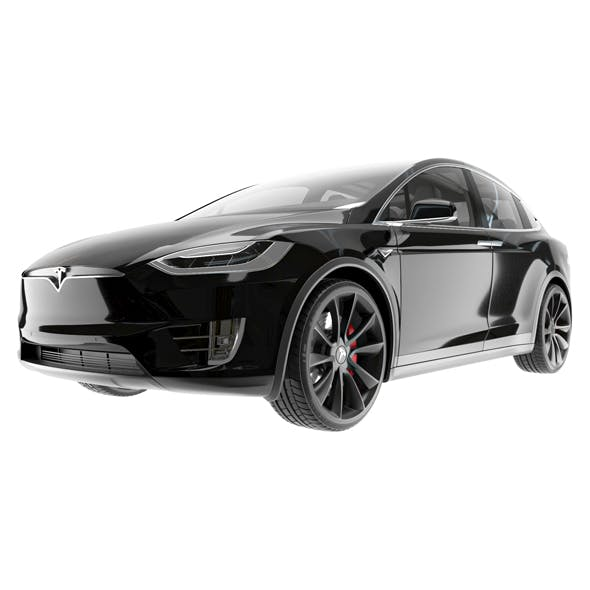 Tesla Model X - 3DOcean Item for Sale
