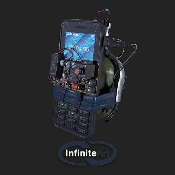 Explosive device - 3DOcean Item for Sale