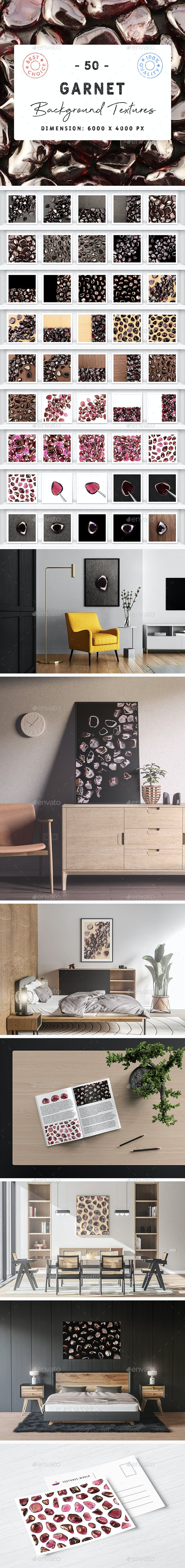 50 Garnet Background Textures - 3DOcean Item for Sale