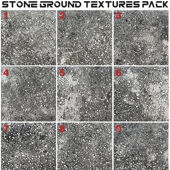Stone Ground Textures Pack 2