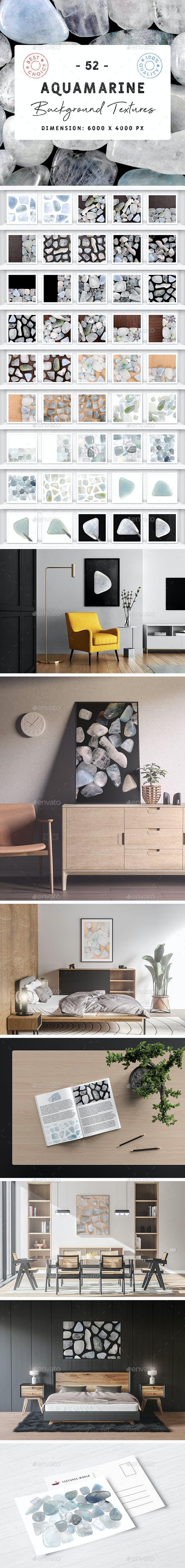 52 Aquamarine Background Textures - 3DOcean Item for Sale
