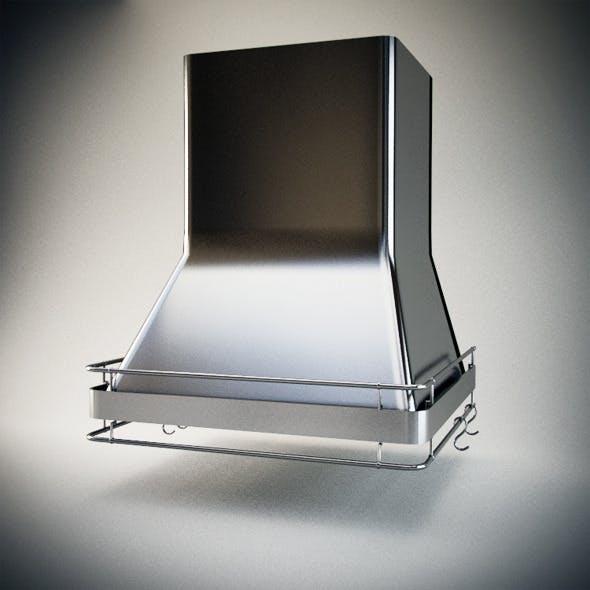 Realistic Extractor hood _ Hood kitchen - 3DOcean Item for Sale