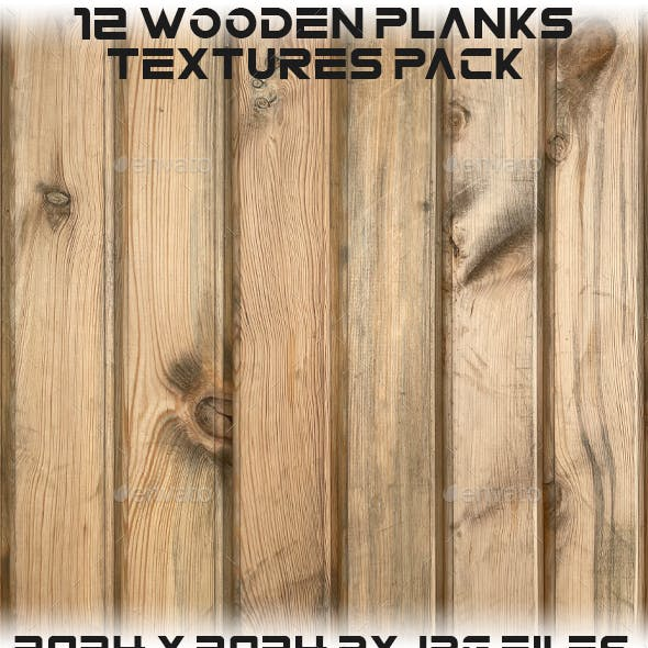 Wooden Planks Textures Pack
