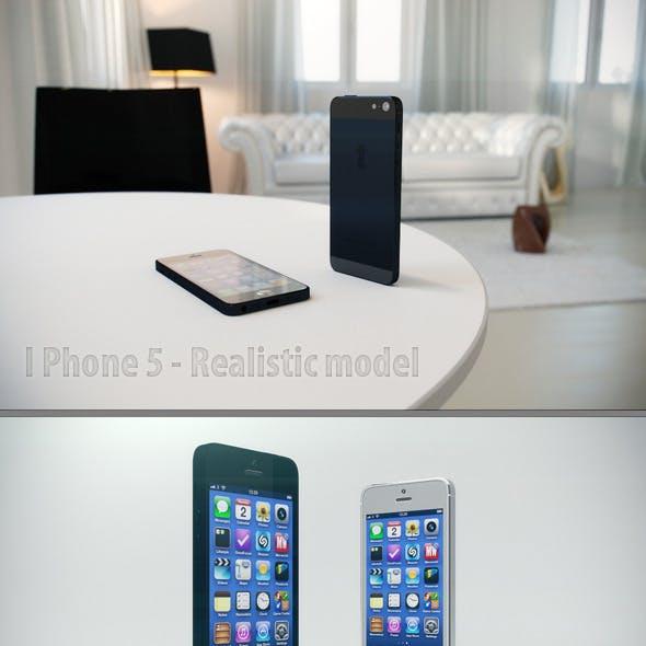 iPhone 5 - Realistic model