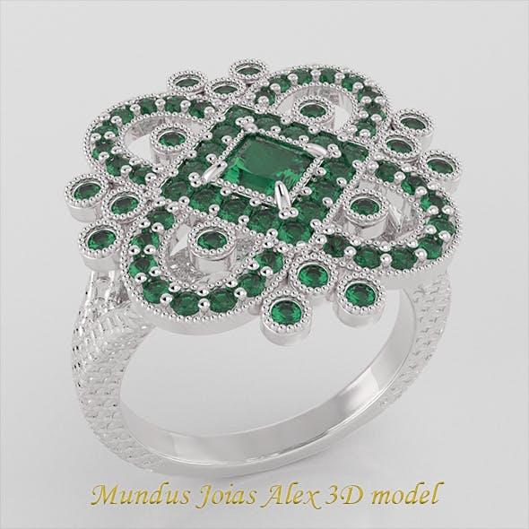 Classic Ring Adornment 01