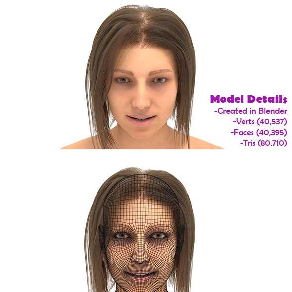 Human Base mesh (FEMAIL) model