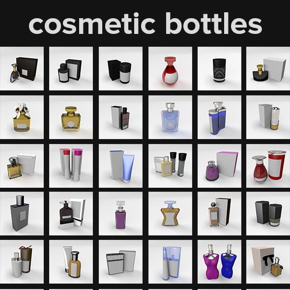 Cosmetic Bottles // 55 PACK