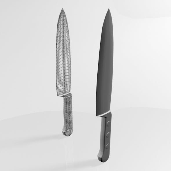 Knife 02 - 3DOcean Item for Sale