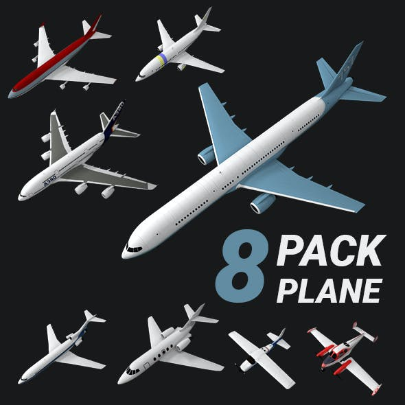 airplane / plane / aircraft / jet / boeing // PACK