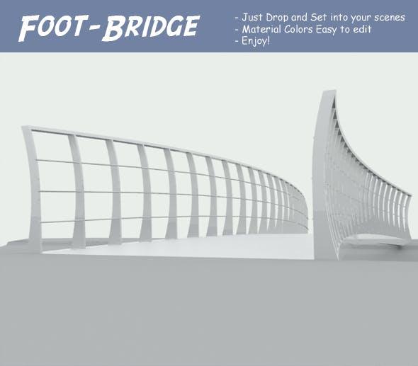 Foot-Bridge - 3DOcean Item for Sale