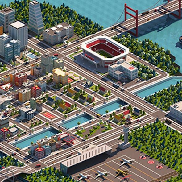 3D Cartoon City Pack