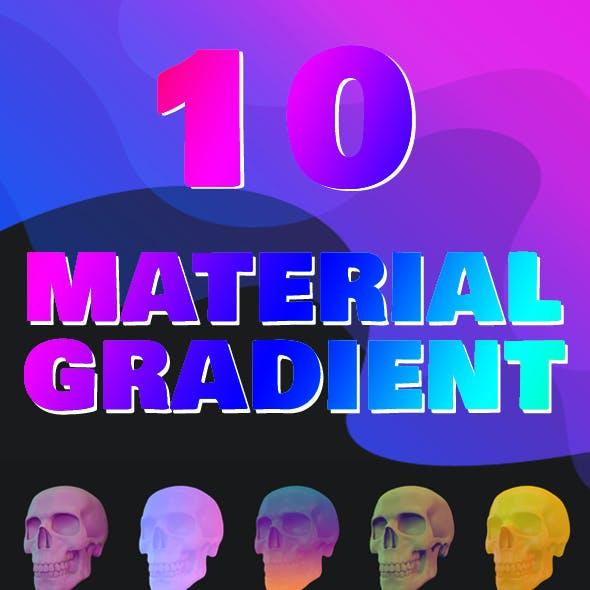 C4D - 10 Material Gradient