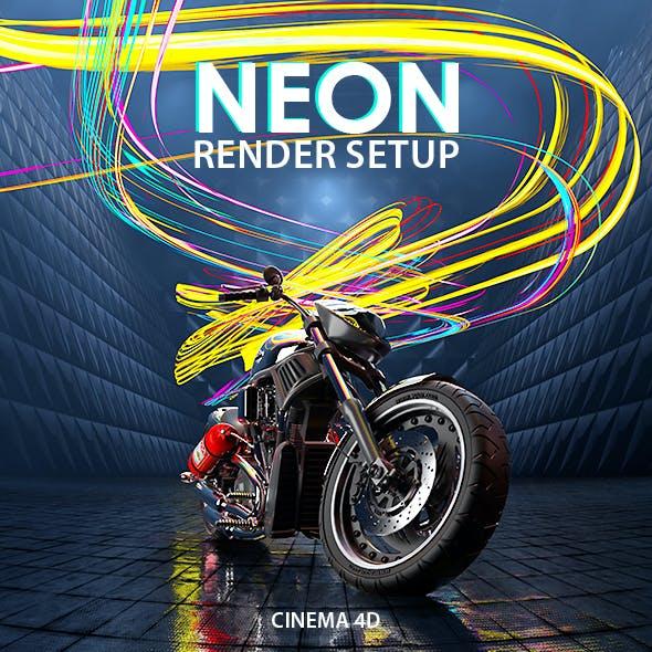 Neon Render Setup