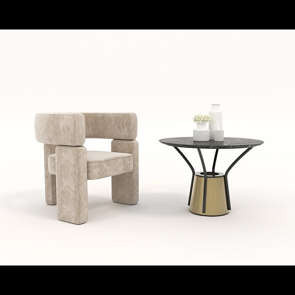 Coffee Table and Chairs 7
