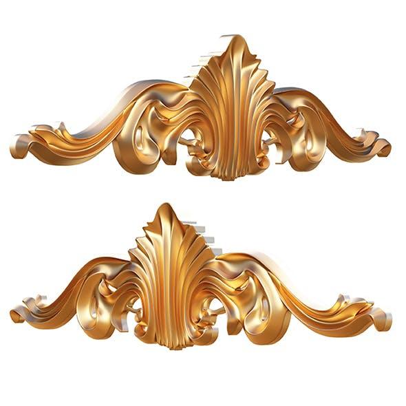 Ornament Carving Molding Decoration CNC - 3DOcean Item for Sale