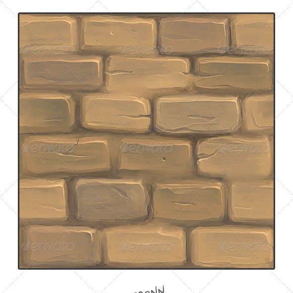 Mud Stone Wall