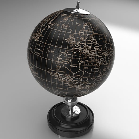 Earth Planet Decor