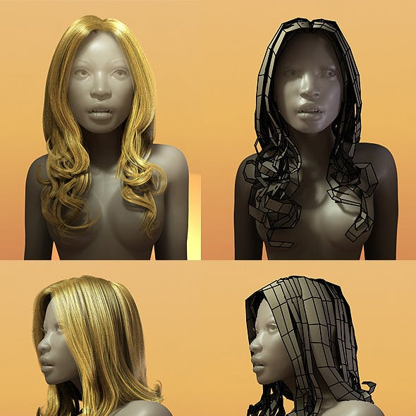 Female Hair Style 003