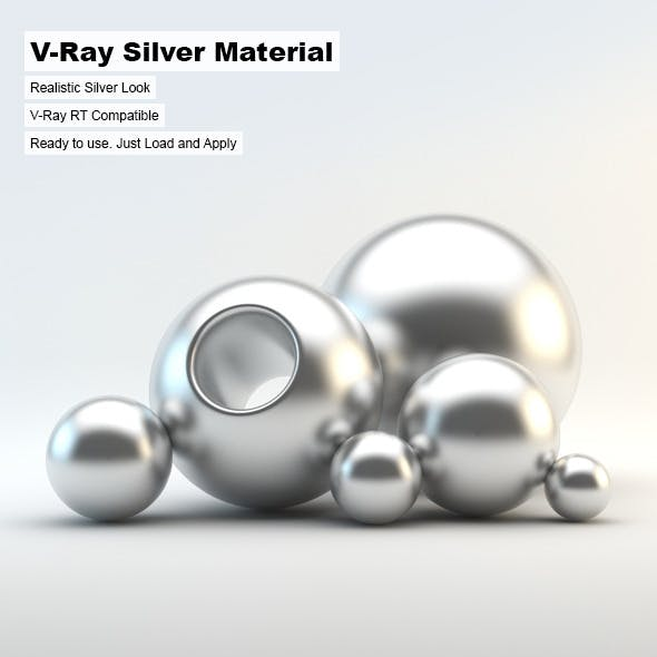 V-Ray Silver Material