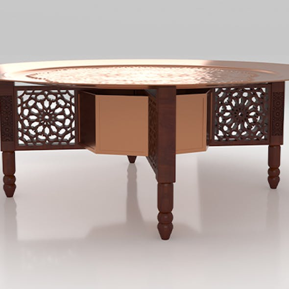 Traditional Moroccan Table