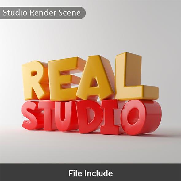 Real Studio Render Scene - Vray