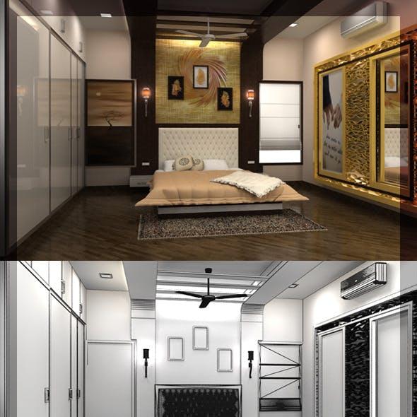 Edit Bed Room 3d interior design 8080 108