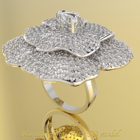 Ring Diamond Flower