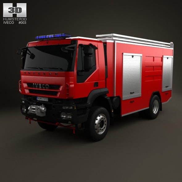 Iveco Trakker Fire Truck 2-axis 2012