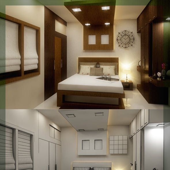 Edit Bed Room 3d interior design 8080 109